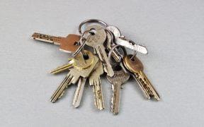 trousseau de clé