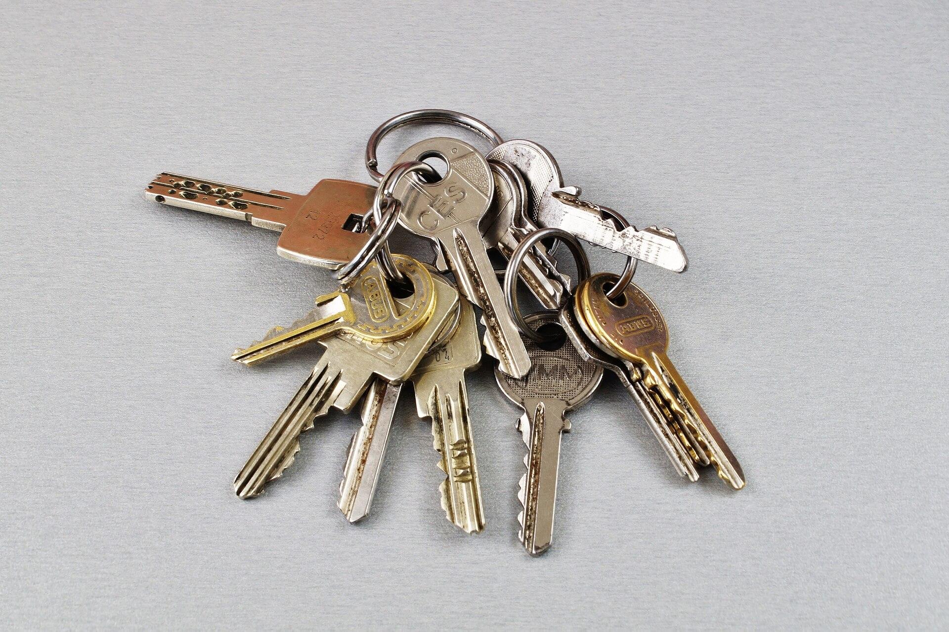 Comment reconnaître les clés de son trousseau ?